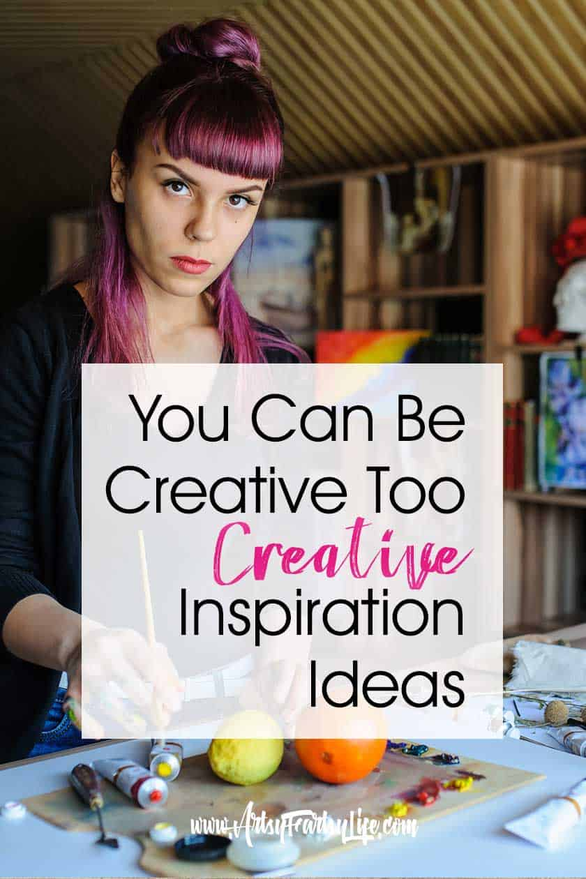 You Can Be Creative Too! ... Today I want to talk about what being creative means! Some people seem to know about creativity from a young age... they decide that they are going to be an artist, writer, dancer or anything else they want to be early on and their parents and the world seem to conspire to make it happen.