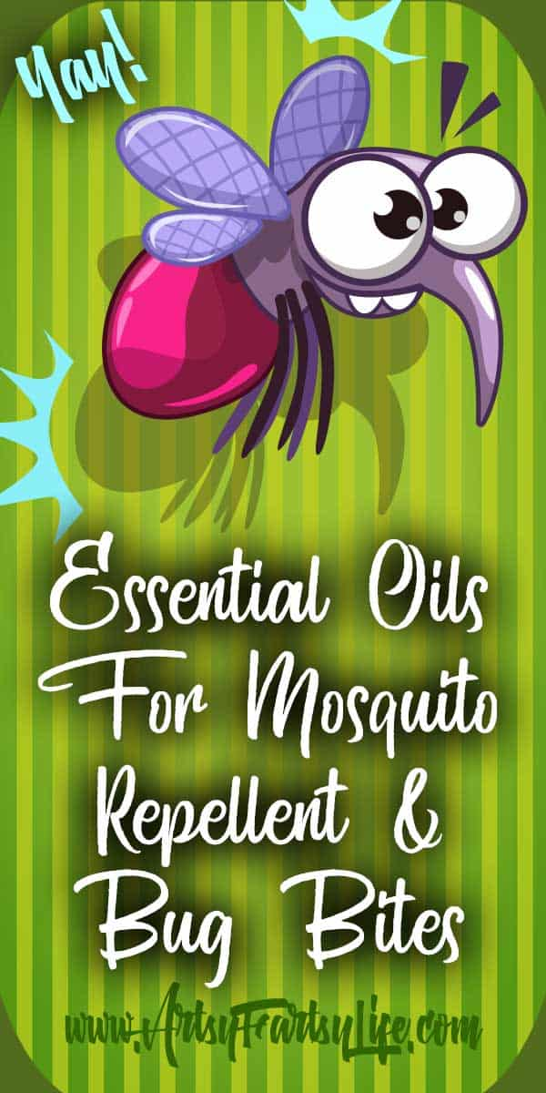 Essential Oils For Mosquito Repellent and Bug Bites... Let' just get this out there, I am a mosquito magnet living in Florida... a recipe for itchy disaster! When I get bug bites I get a huge welt that can be itchy for days.