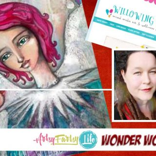 Willowing Arts, Tamara Laporte – Mixed Media Artist and Wonder Woman