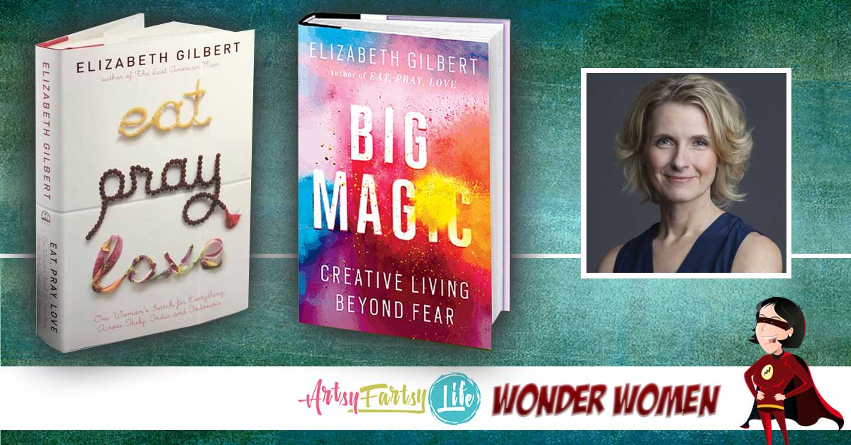 Liz Gilbert is my spirit animal! Okay, now that we have that right out front, I can tell you why she makes my Wonder Women list... Functionally, this may be the one book ever written just for me! It covers all kinds of practical creative things like fear (funny that is the first thing that comes to mind when I think about being creative!)