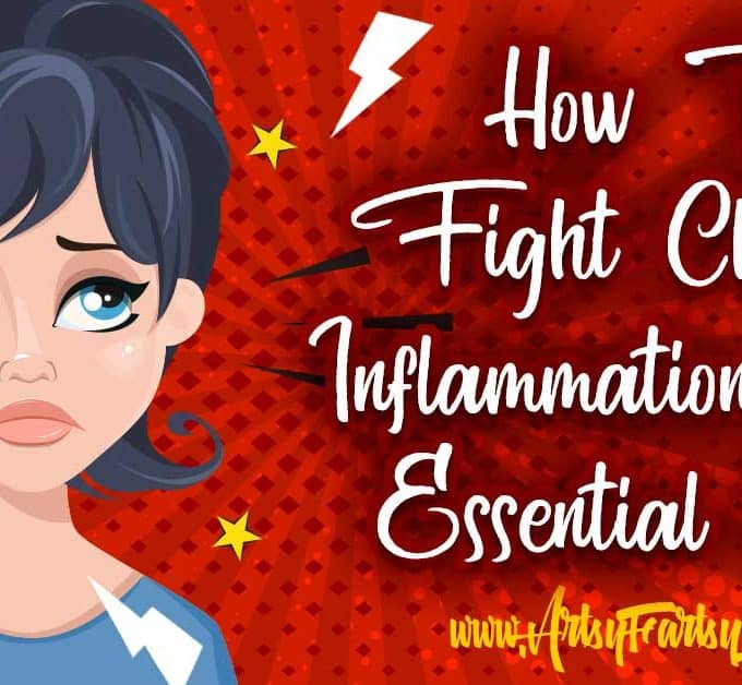 How To Fight Chronic Inflammation With Essential Oils... I hate having to take pill after pill to fight the aches and pain and was thrilled to find out that essential oils could help lessen both inflammation and pain.