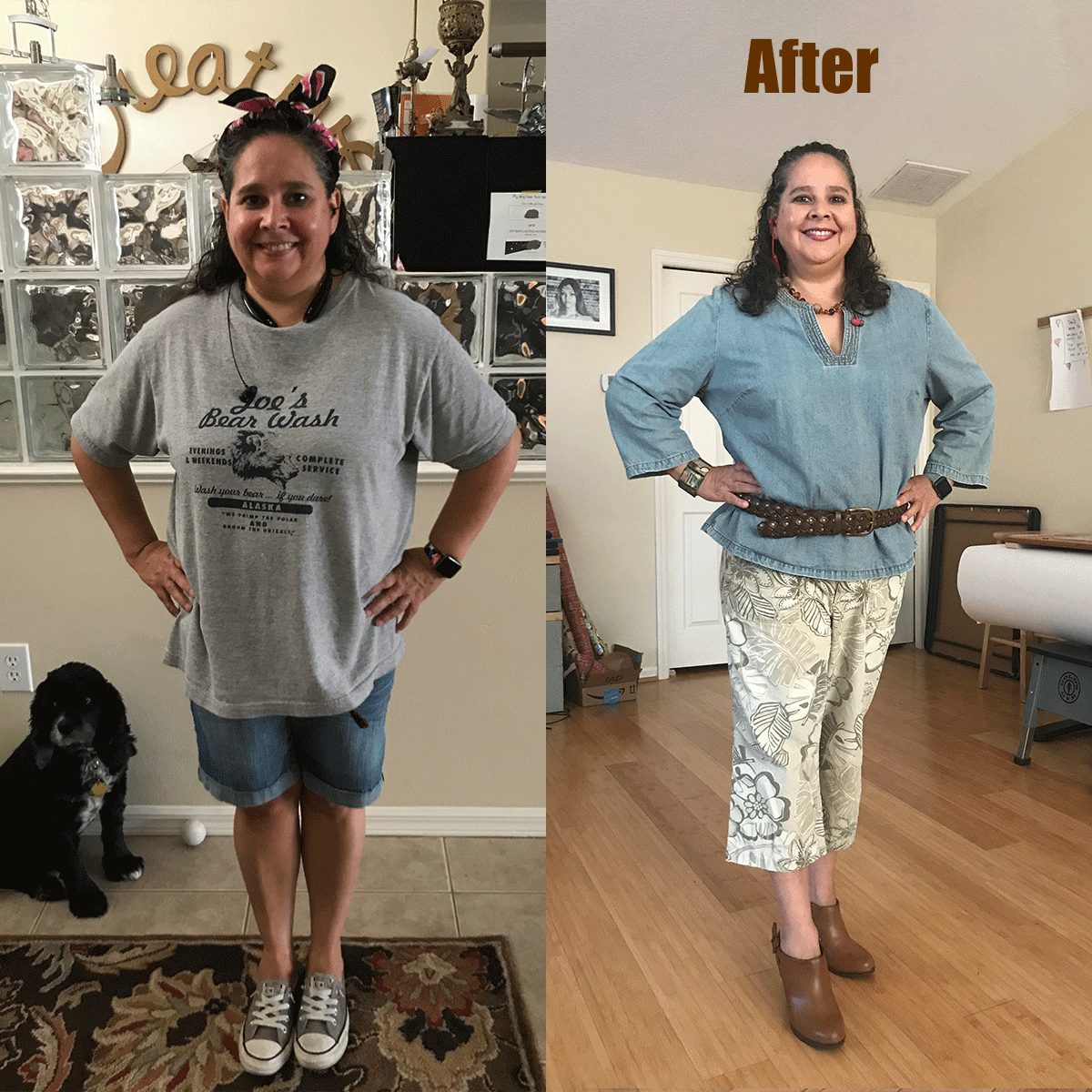 Before & After - Dressing your truth!