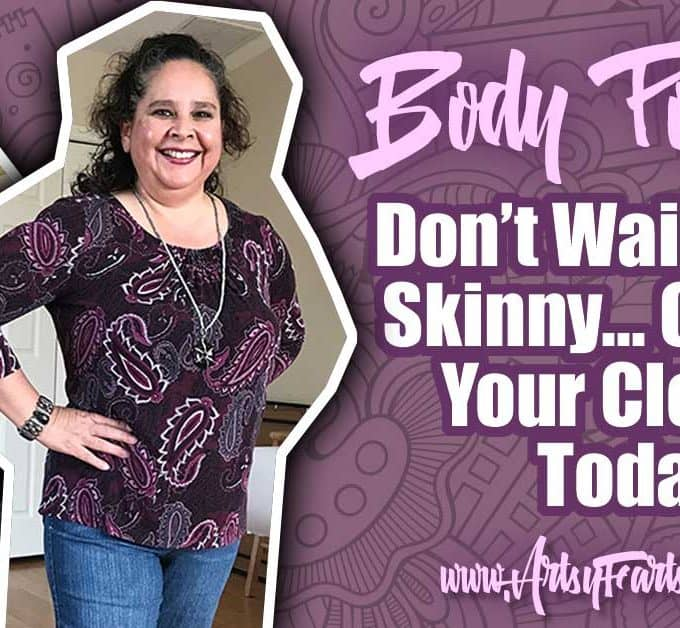 Don't Wait To Get Skinny, Find Outfits That Look Good On Your Body Now! I have been struggling with body positivity now that I am over 50. Being a curvy woman, it is easy to think that I should be using frumpy clothes to cover my fat body. An over 50 shorts outfit and article about how to love yourself and the body you are in now.
