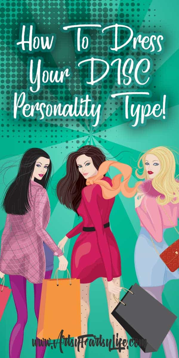 Dress Yourself Using The DISC Personality Type - If you are having a trouble dressing yourself, use your DISC personality type to get tips and ideas about what you should wear!