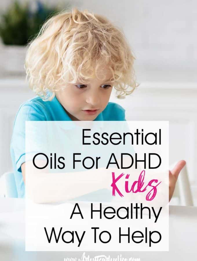 Essential Oils For ADHD Kids - A Healthy Way To Help... Tips, Ideas and Recipes for how to make roller balls and sprays to help with concentration and focus.
