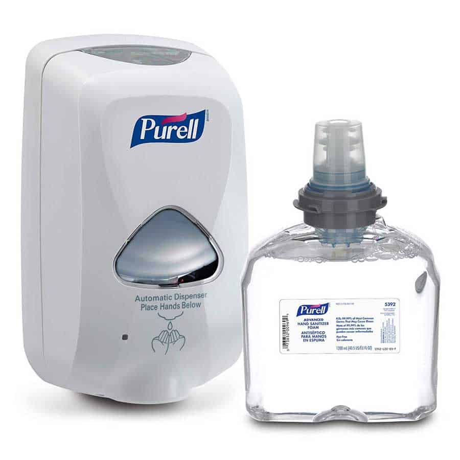 Hands Free Hand Sanitizer
