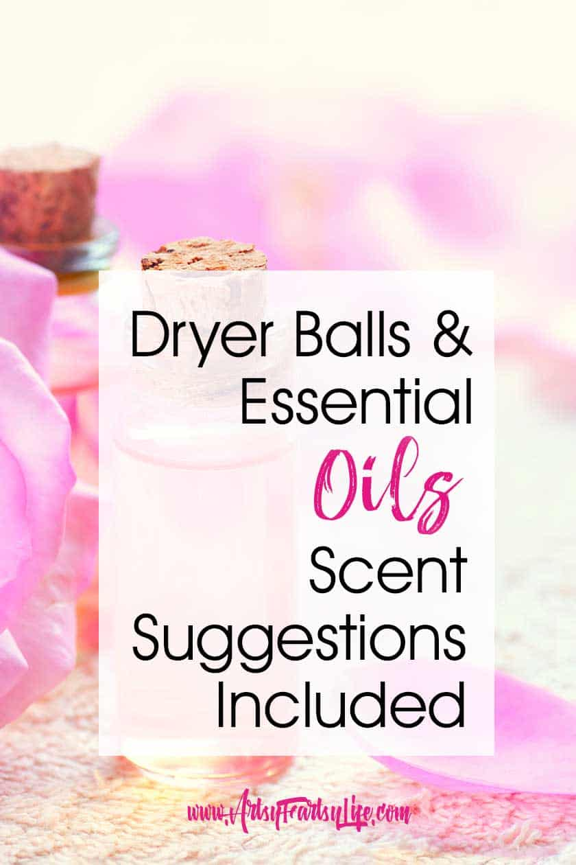 Dryer Balls and Essential Oils (Scent Suggestions Included!) You may wonder why use dryer balls and scents instead of chemical dryer sheets or smelly laundry soap! I like to put essential oils on mine to make them smell better. Here are my best tips and ideas for using dryer balls as part of your natural living routine.