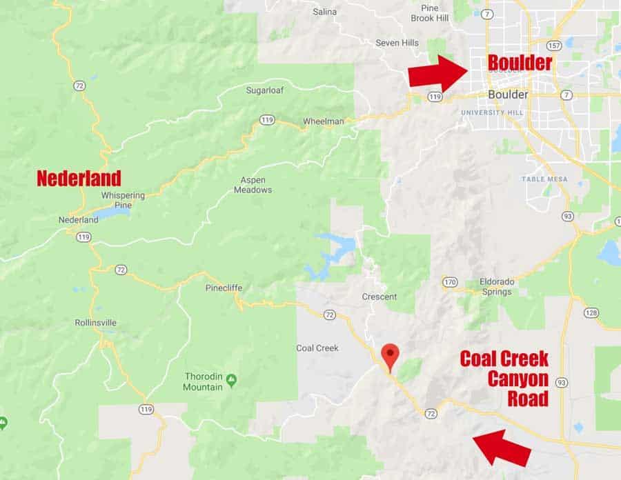 Coal Creek Canyon Road Loop