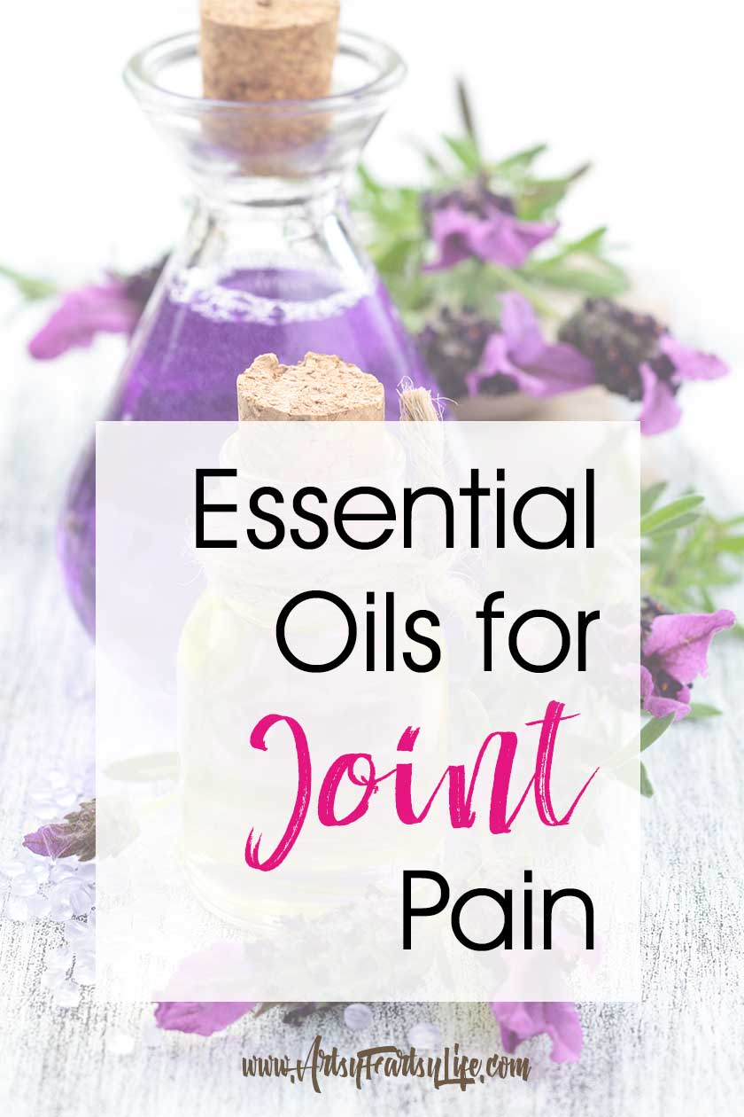 Essential Oils for Joint Pain.... Whether you are suffering from Rheumatoid arthritis (RA), shoulder pain, knee pain or other joint ailments, using essential oils as a supplement to your doctor prescribed medications is a great idea! Here are my top tips for using essential oils for pain. #essentialoils