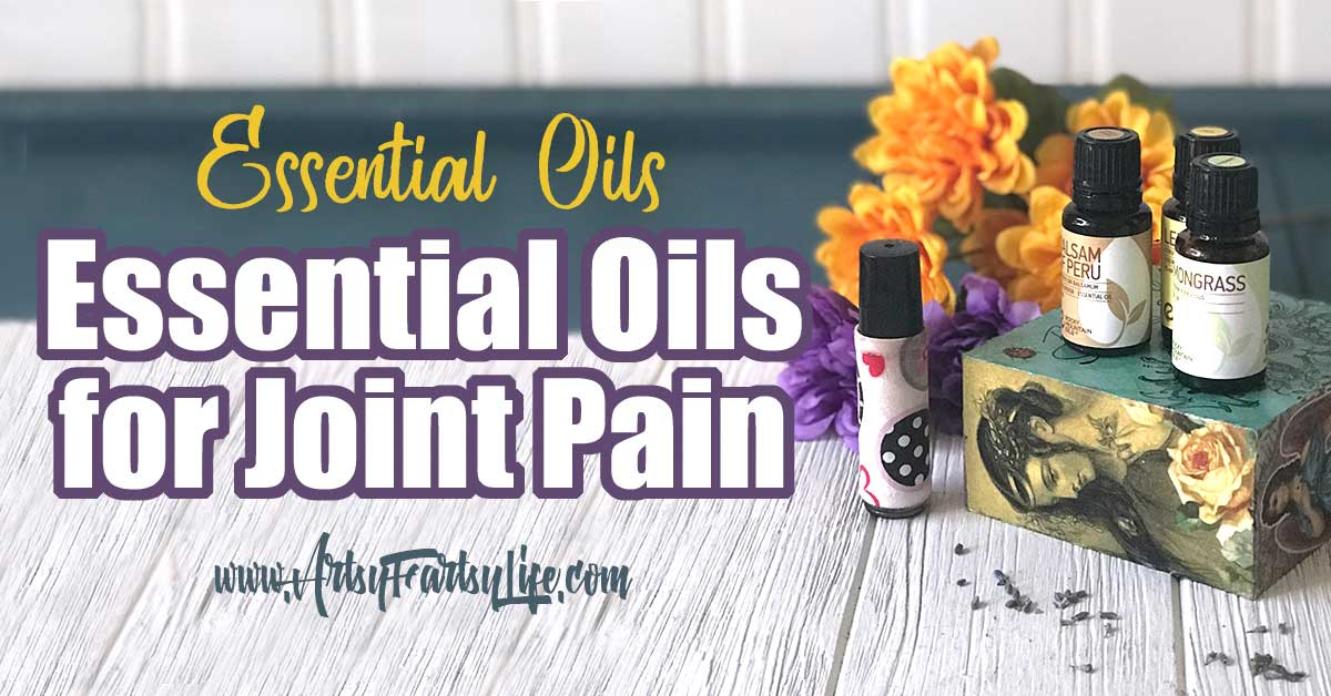 Essential Oils for Joint Pain... Whether you are suffering from Rheumatoid arthritis (RA), shoulder pain, knee pain or other joint ailments, using essential oils as a supplement to your doctor prescribed medications is a great idea! Here are my top tips for using essential oils for pain. #essentialoils