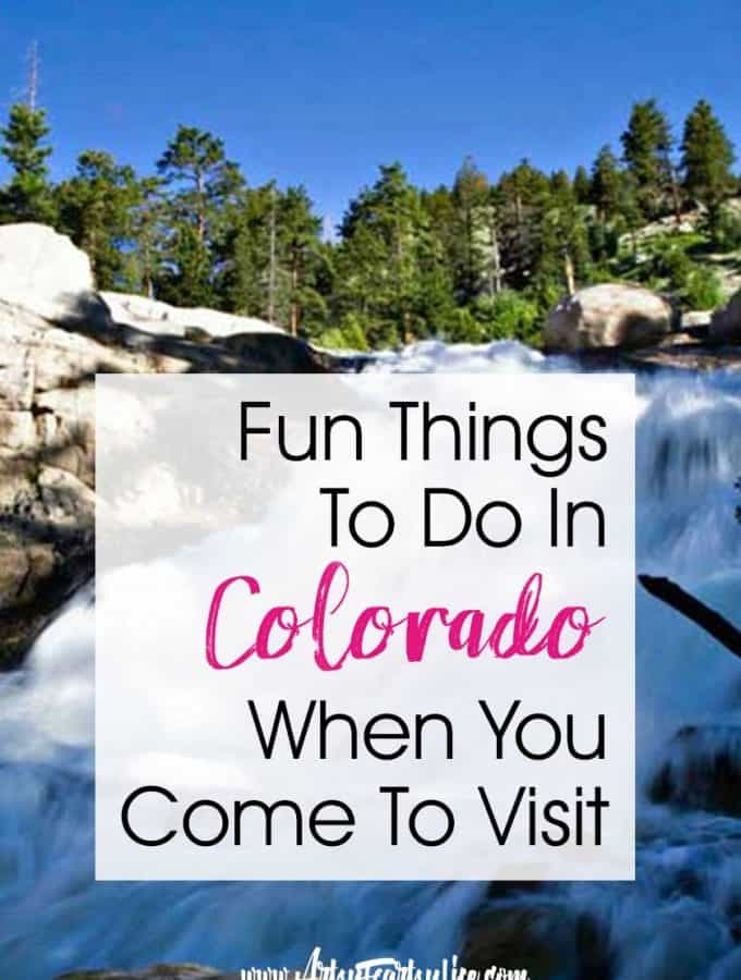 Fun Things To Do In Colorado When You Come To Visit… Travel tips and ideas including the Rocky Mountains and hiking, dining and shopping, road trips and adventure. Features top cities and national parks sites to visit. Good for adults and families on vacation.