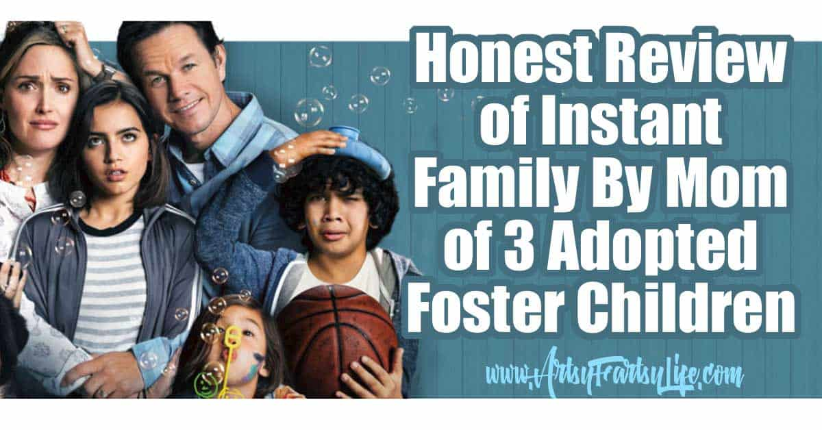 Honest Review of Instant Family By Mom of 3 Adopted Foster Children... Here is my honest review about what Instant Family got right and wrong about adopting from the foster care system! For sure I will be covering themes of adoption, but also trauma, loss and joy.