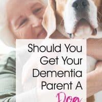 Should You Get Your Dementia Parent A Cat or a Dog