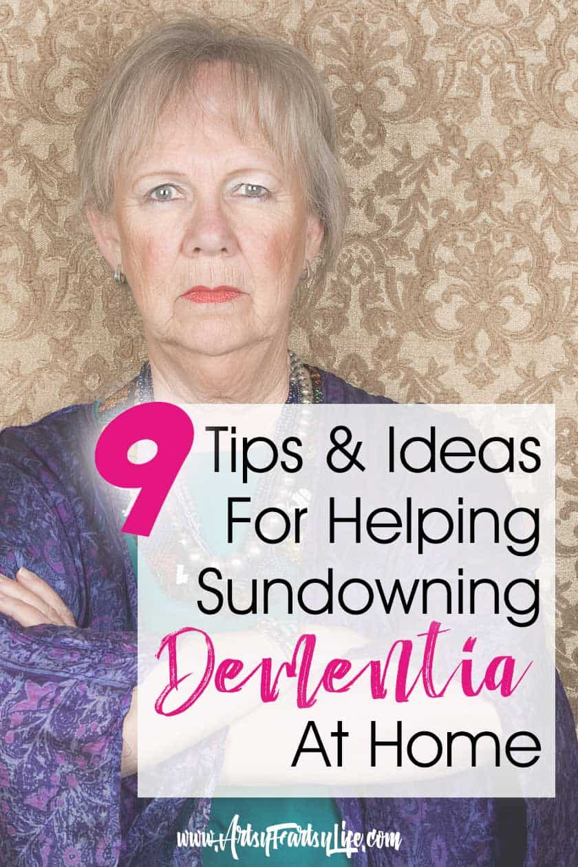 9 Tips and Ideas For Sundowning Dementia At Home... Some dementia and Alzheimers patients experience