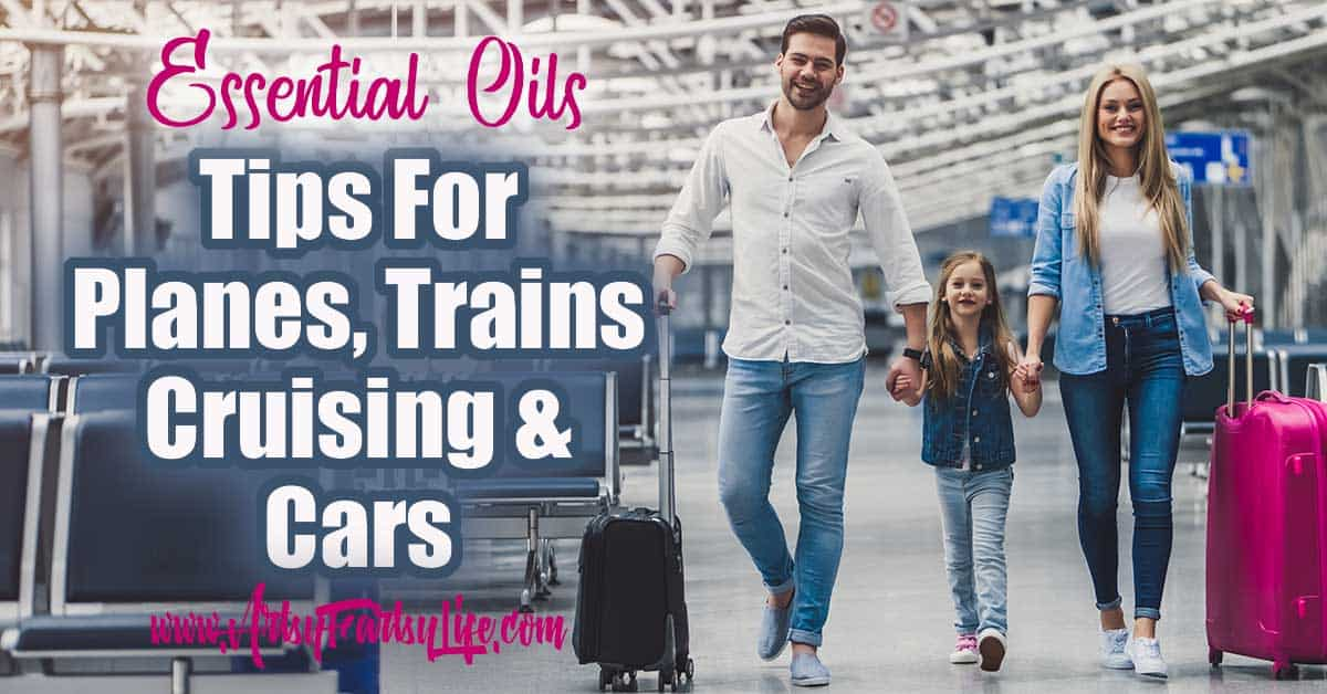 Essential Oils For Traveling Tips & Ideas ... Make sure you can take essential oils safely when you travel. Includes bag and kit cases, and authorized travel case recommendations. Travel tips for kids, nausea, motion sickness and more!