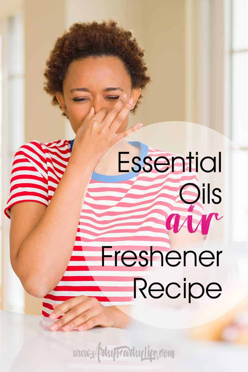 DIY recipes for essential oils air fresheners