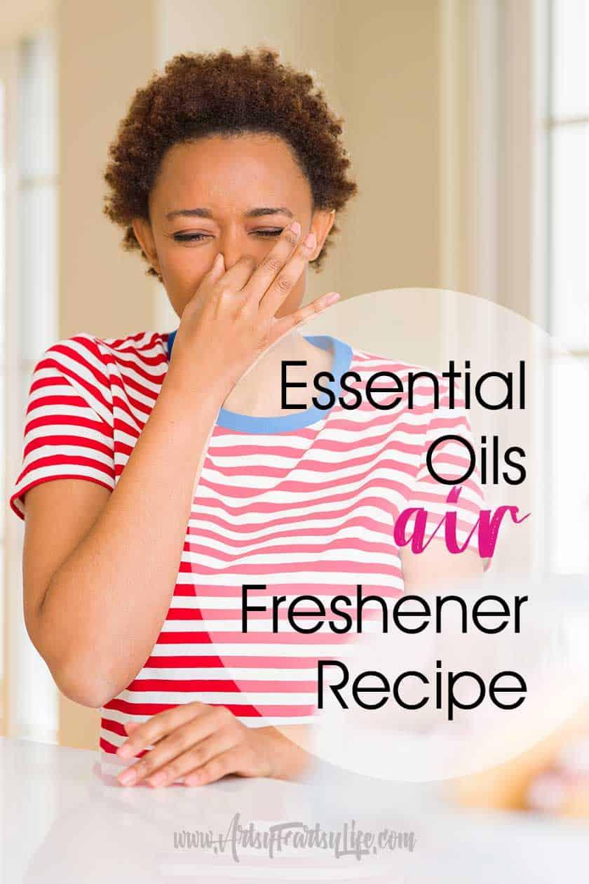 DIY recipes for essential oils air fresheners