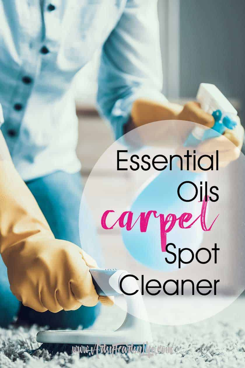 Essential Oils Carpet Spot Spray Cleaner
