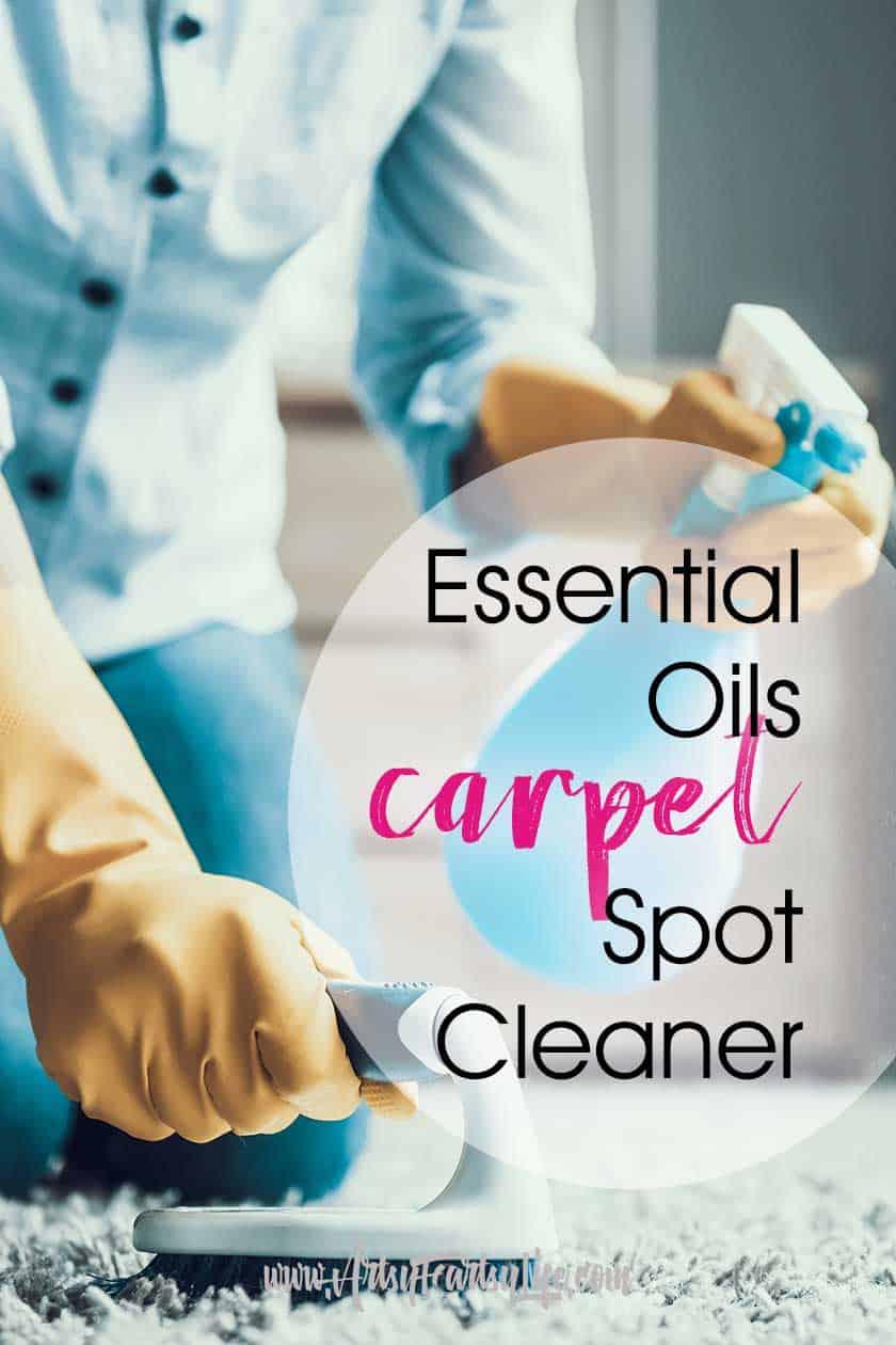 Essential Oils Carpet Spot Spray Cleaner