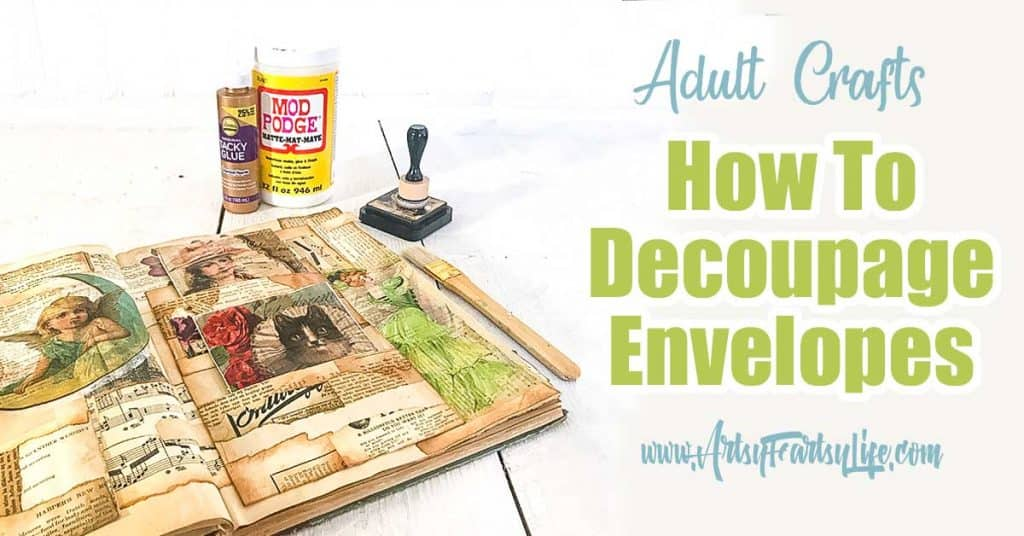How To Decoupage Envelopes