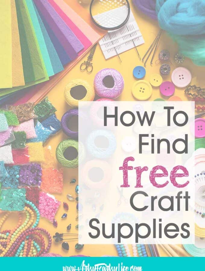 5 Ways To Find Free Adult Craft Supplies