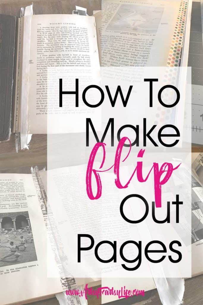 How To Make Flip Out Pages