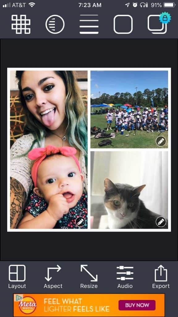 Pic stitch collage photo maker