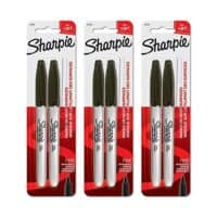 Sharpie 30162PP Fine Point Permanent Markers, Black