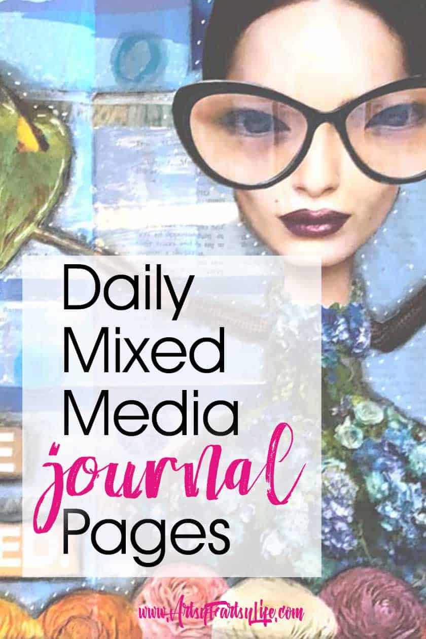 Daily Mixed Media Journal Pages