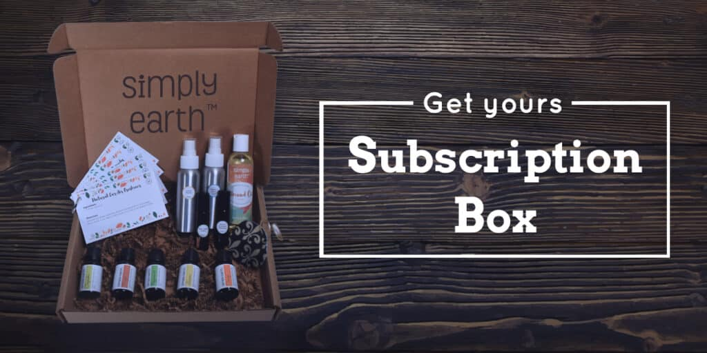Simply Earth Monthly Essential Oils Subscription Box