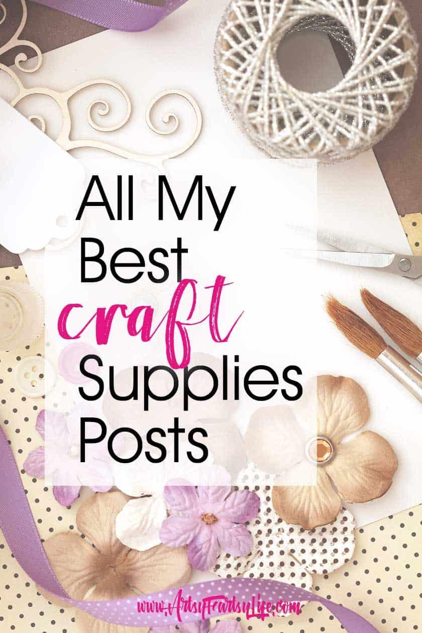 All My Best Craft Supplies Posts!