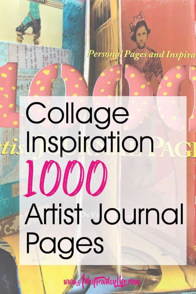 Collage Inspiration - 1000 Artist Journal Pages Book