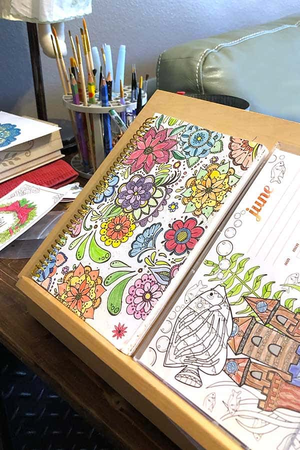 Alzheimers activities - coloring pages