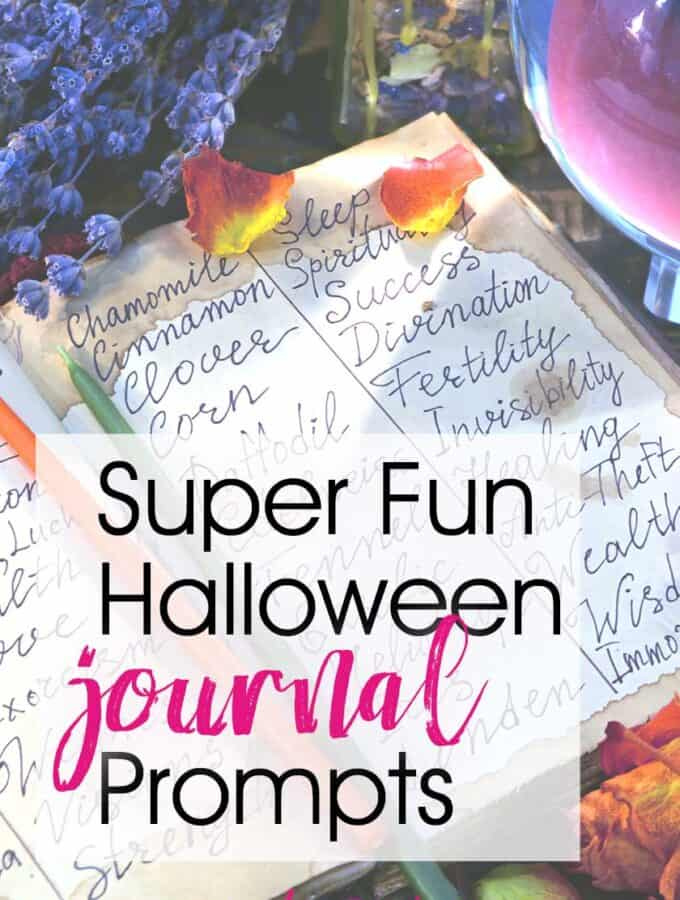 Journaling Prompts For Halloween