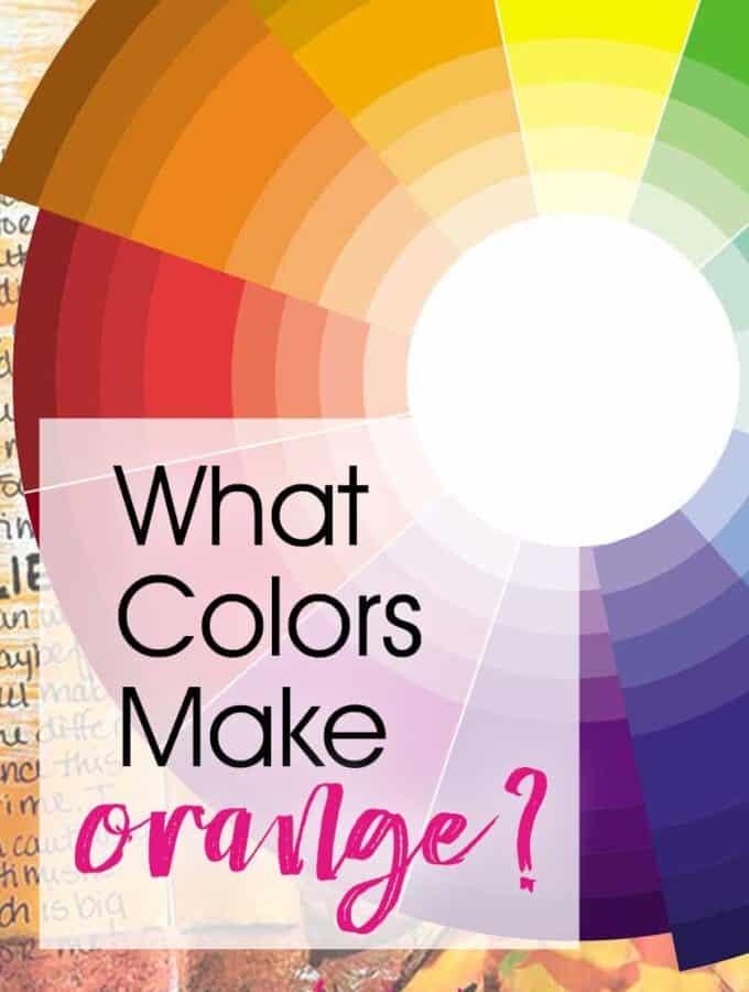 What Colors Make Orange?