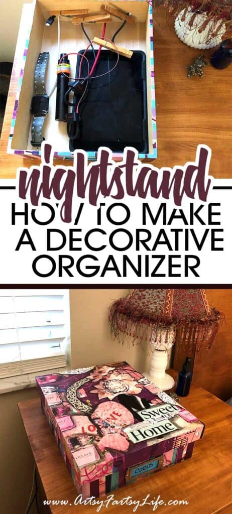 DIY Decorative Boxes For Cord Organization