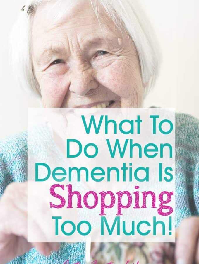 Alzheimers and Dementia Shopping Too Much