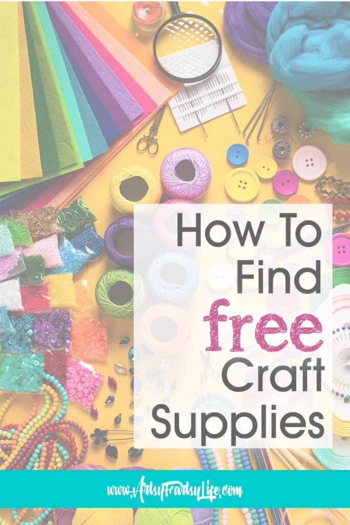5 Ways To Find Free Adult Crafts Supplies