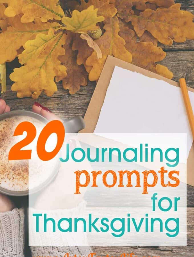 20 Journalling Prompts For Thanksgiving