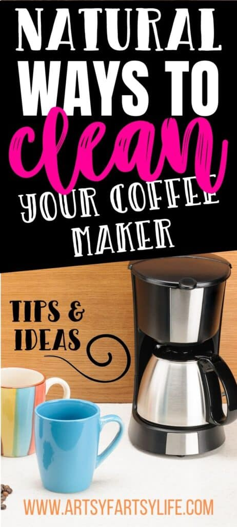 Natural Ways To Clean Your Coffee Maker