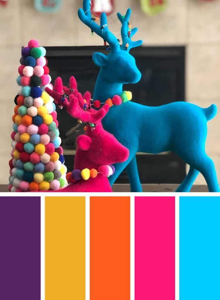 Boho Christmas Color Palette