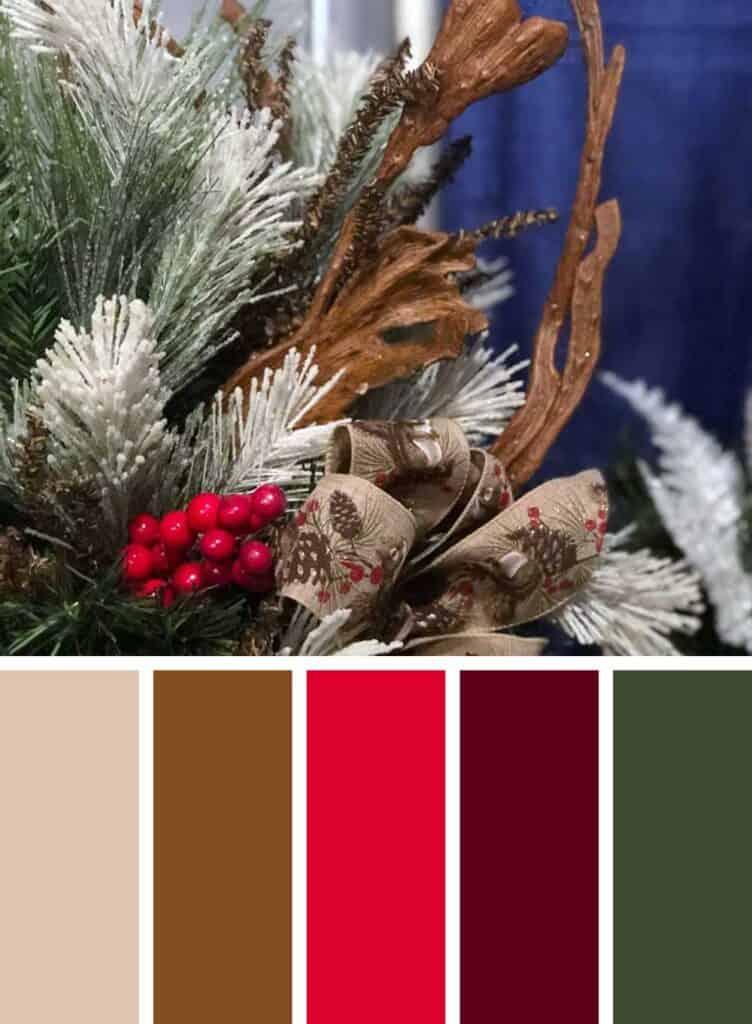 Farmhouse Christmas Color Palette