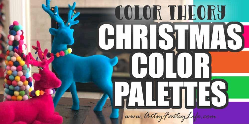 Color theory... Christmas Color Palettes
