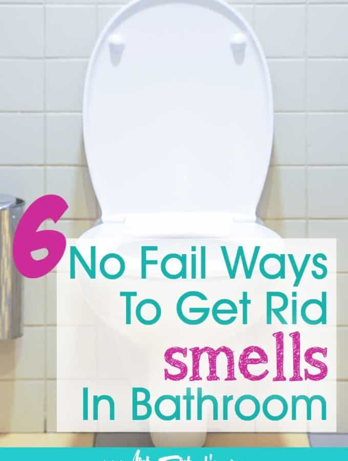 6 No Fail Ways To Get Rid of Pee Smells In Bathroom