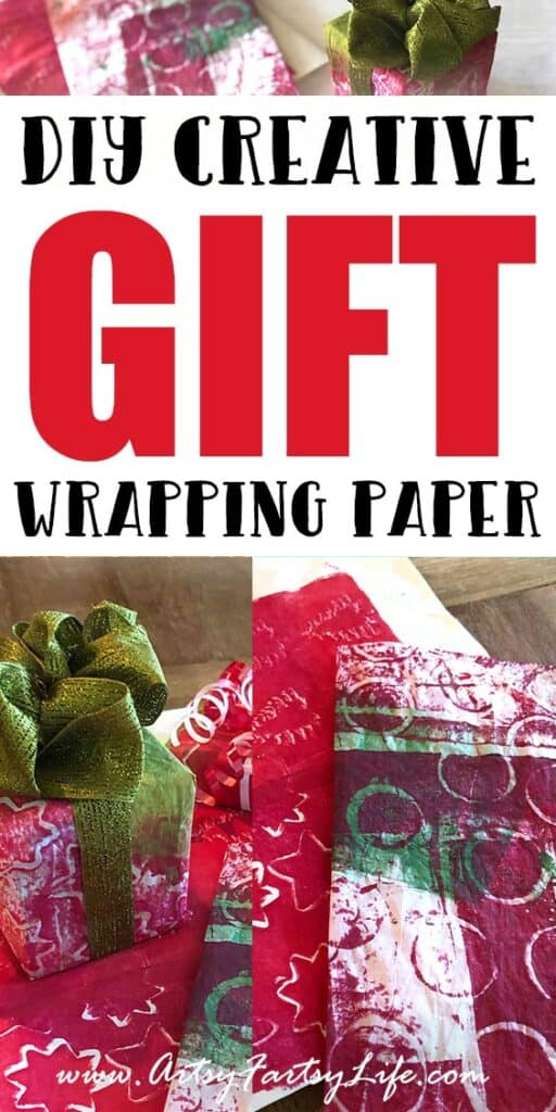 How To Make DIY Christmas Wrapping Paper