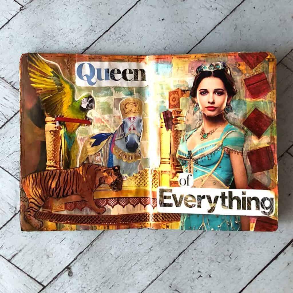 Princess Jasmine of Aladdin. Tara Jacobsen - The Sketchbook Project