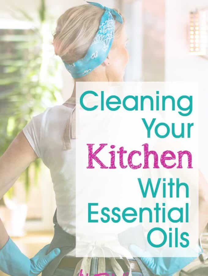 Cleaning Your Kitchen with Essential Oils