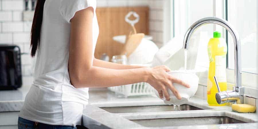 Essential oils dishwashing soap