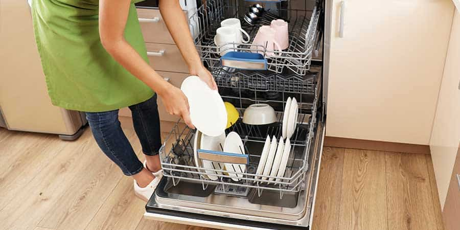 Essential oils dishwasher cleaner pods