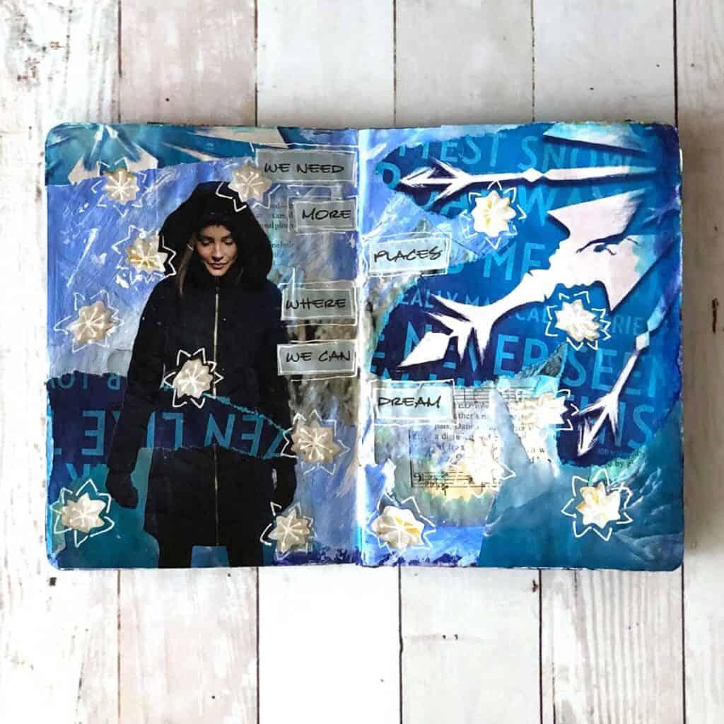 Frozen - The Sketchbook Project, Tara Jacobsen